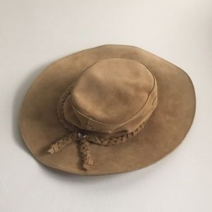 Banana Republic Suede Leather Hat